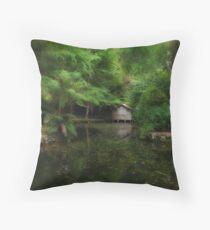 Oasis on the Lake Throw Pillow