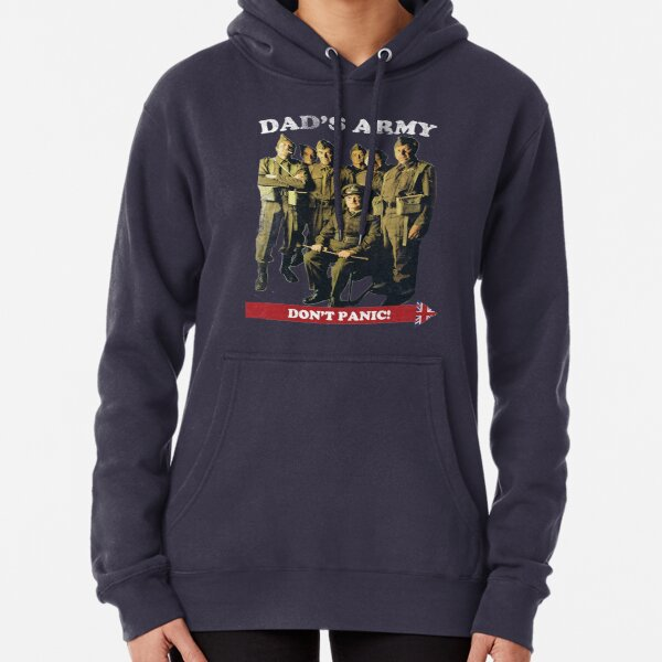 Dad's Army - Don't Panic Pullover Hoodie