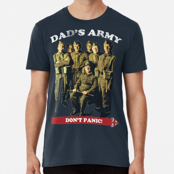 Dad's Army - Don't Panic Premium T-Shirt