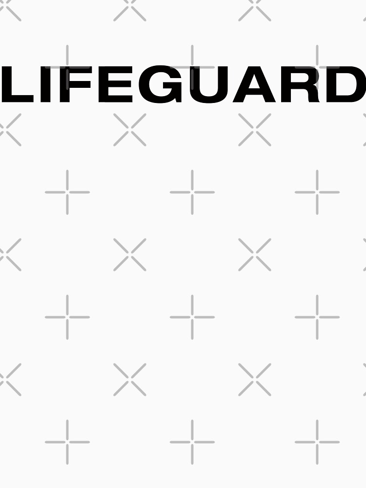 Lifeguard (Black Text) by RoufXis