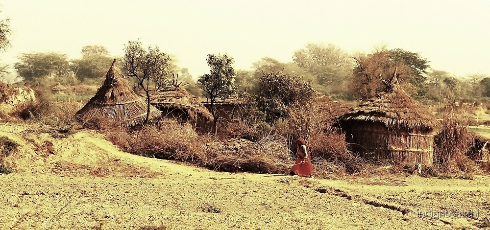 A Village in india. by indianbsakthi