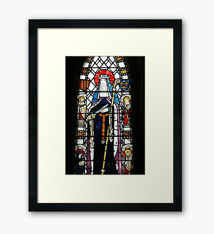 Stained Glass, 2 Framed Print