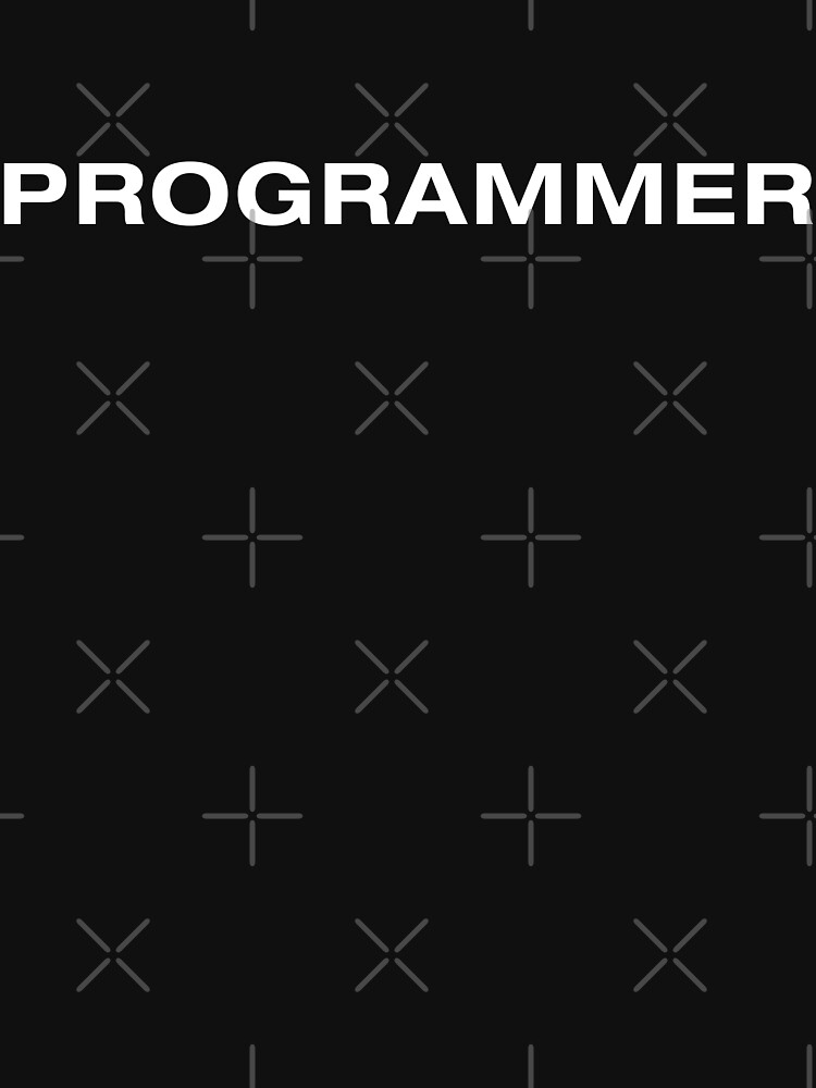 Programmer (White Text) by RoufXis