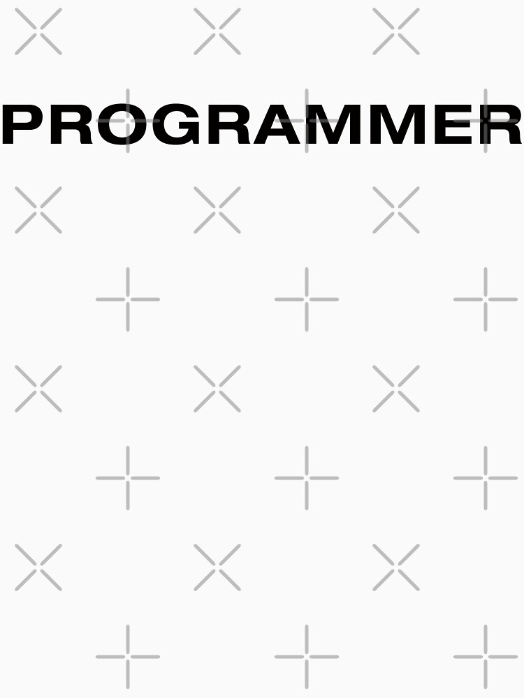 Programmer (Black Text) by RoufXis