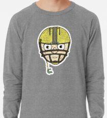 football head sweating cartoon man  Lightweight Sweatshirt