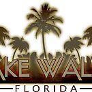 Lake Wales Florida palm tree words by artisticattitud