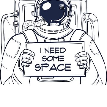 I need some Space Shirt Astronaut Space T-Shirt by LuckyU-Design