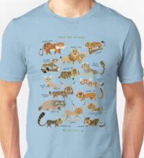 Wild Cats of India Unisex T-Shirt