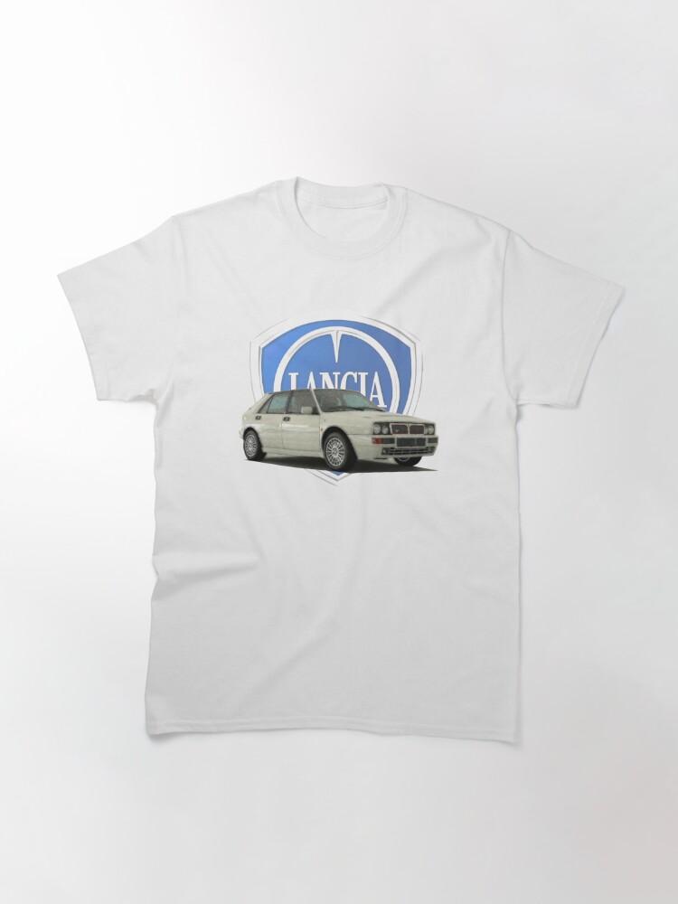 Alternate view of Lancia Delta HF Integrale Classic T-Shirt