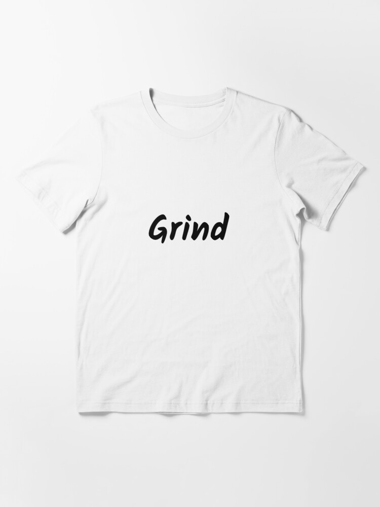 Alternate view of Grind (Inverted) Essential T-Shirt