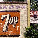 7-Up on Bean's Diner, Austin, Texas by Stephen D. Miller