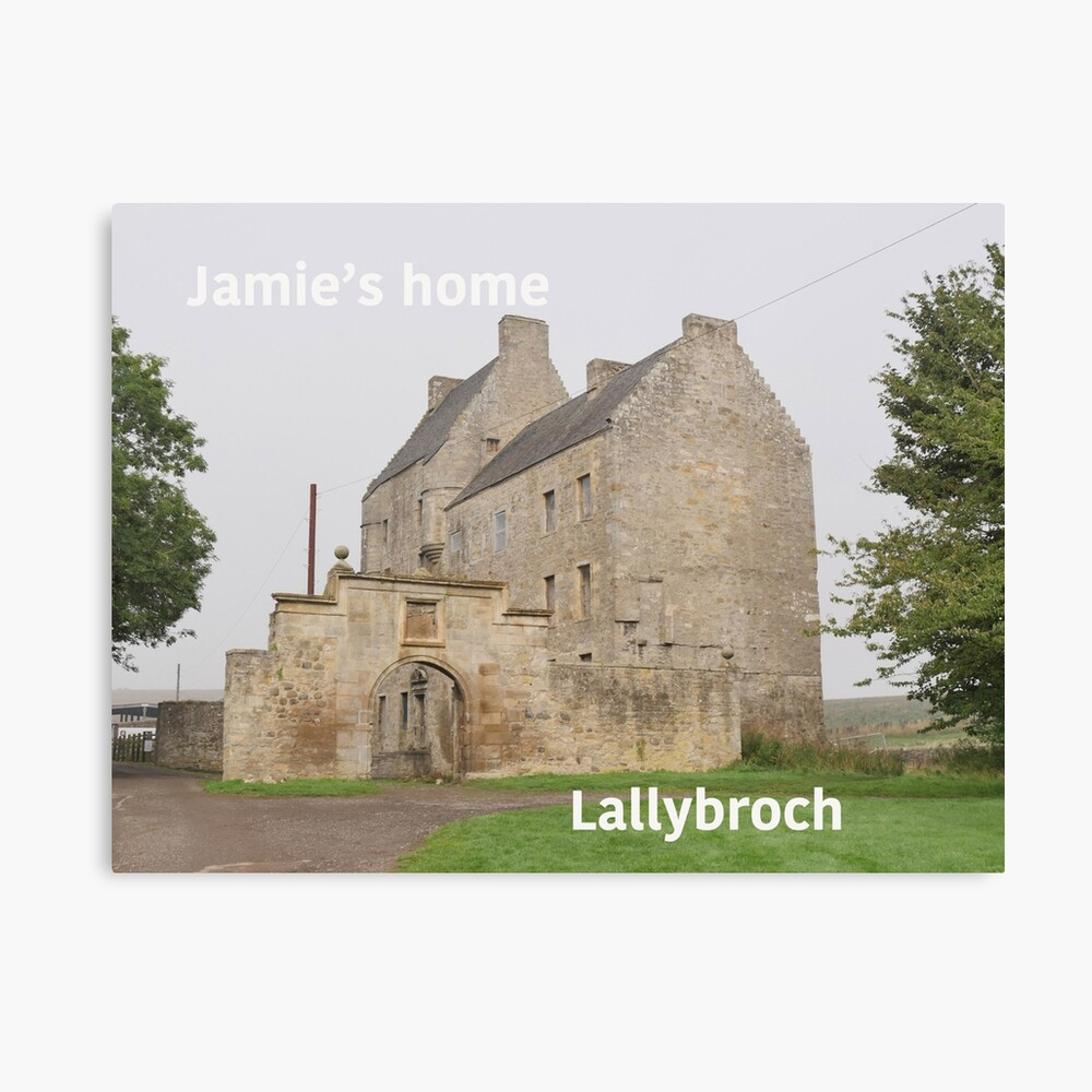 Jamie's home ... at Lallybroch Canvas Print