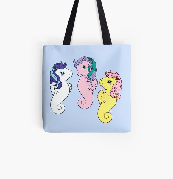 sea ponies All Over Print Tote Bag