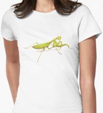 Praying Mantis Fitted T-Shirt