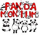 Funny Panda drawing Meme Bear T Shirt Pandamonium Pun by funnytshirtemp