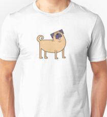 Camiseta unisex Vida Pug
