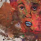 Last FACE ever painted by Bernard Lacoque by ArtLacoque