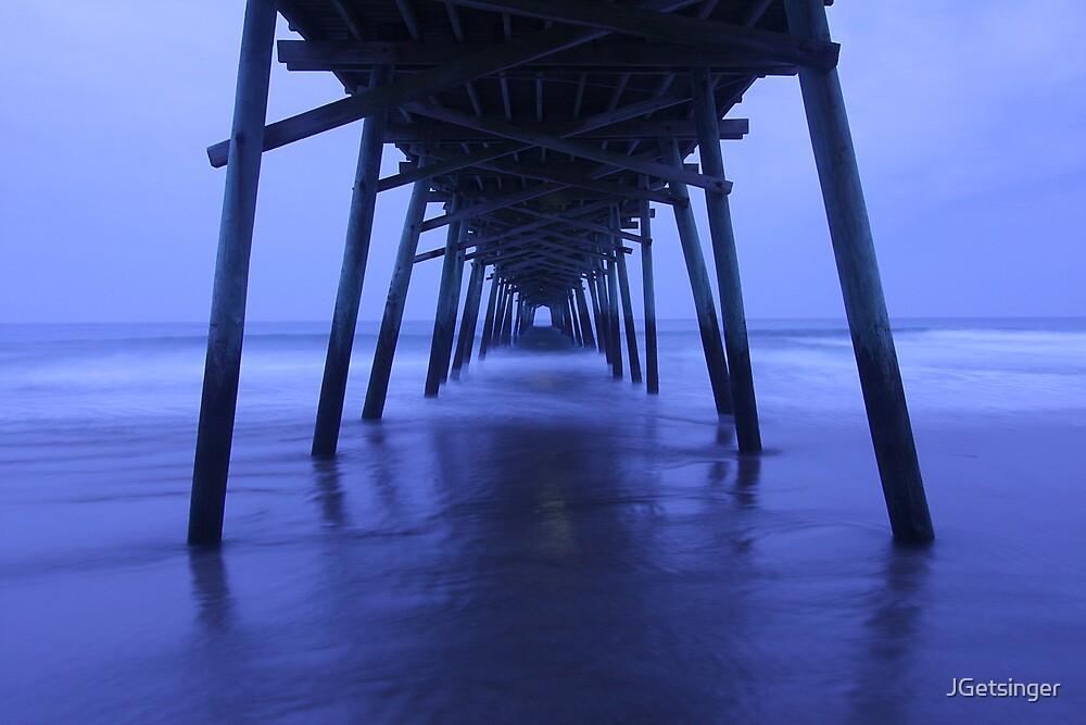 Pier After Dark by JGetsinger