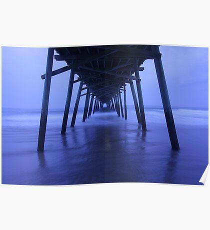 Pier After Dark Poster