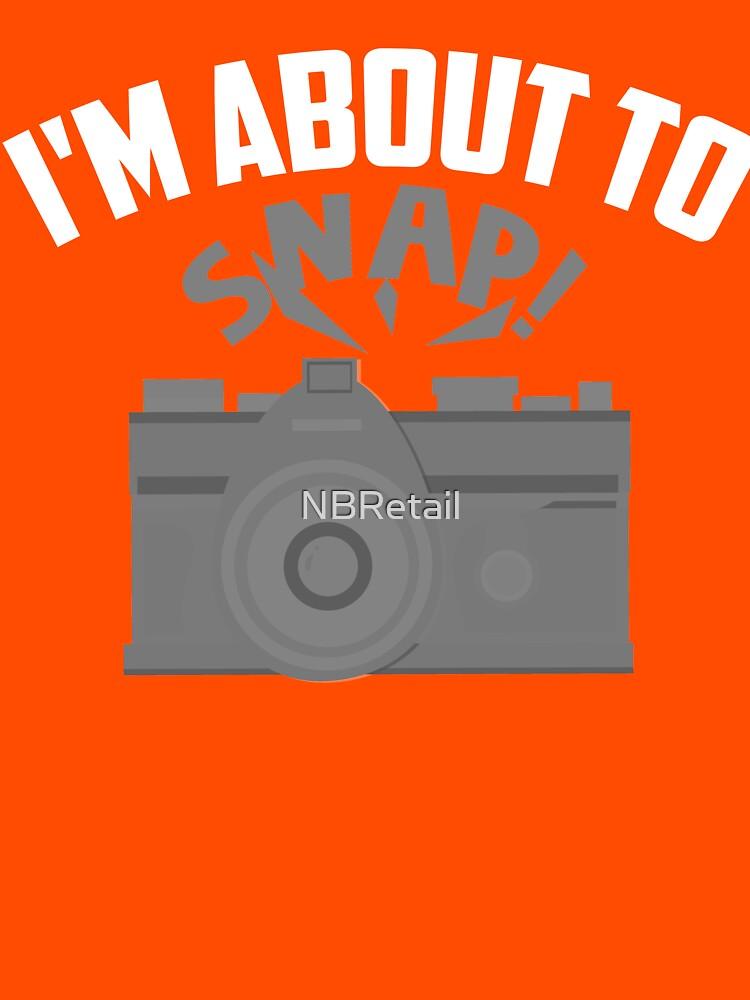 Estoy a punto de fotografiar arte   Regalo divertido del arte de la leva del vintage de NBRetail