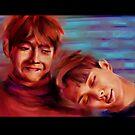 « Spring Day V & RM BTS fanart » par Niji-Ninjart