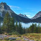 Glacier Mountains by Bendinglife
