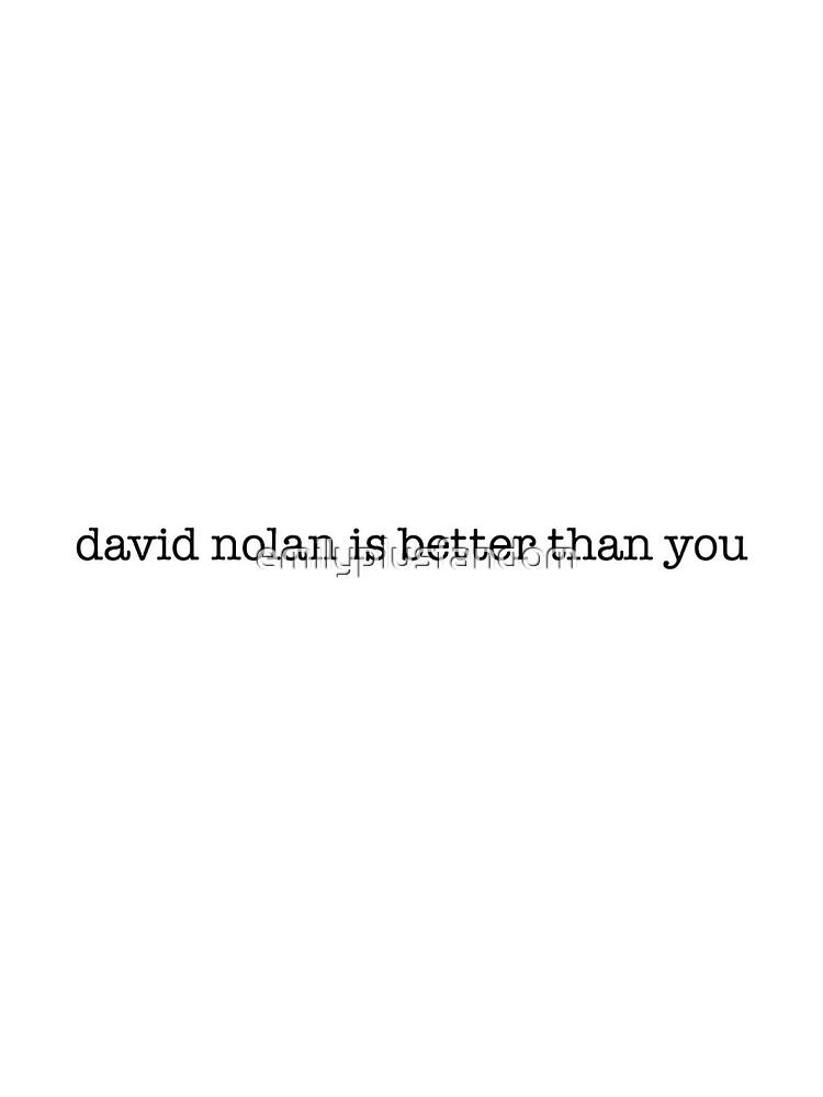 David Nolan Is Better Than You (OUAT) by emilyplusfandom