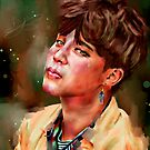 « Jimin Tear BTS » par Niji-Ninjart