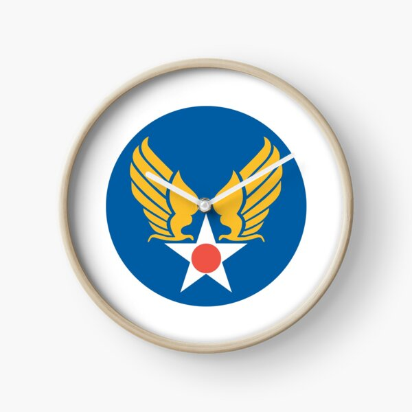 USAAC. United States Army Air Corps. Clock