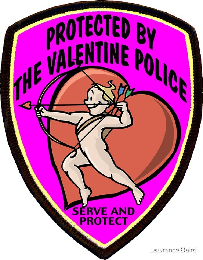 Valentine Police by Lawrence Baird