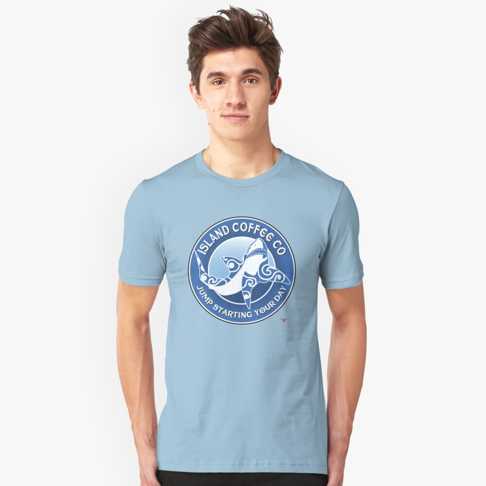 Island Coffee Co Unisex T-Shirt Front