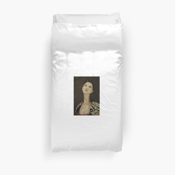 the Queen of Hearts Duvet Cover