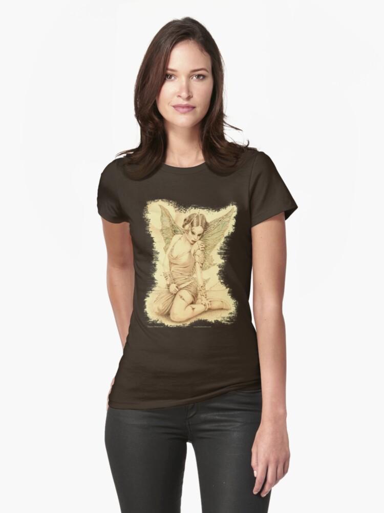 """Fairy Warrior"" Womens T-Shirt Front"