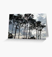 Sunset Through Clouds Greeting Card