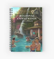 Regional Convention Notebook - Kinder im Wasser Spiralblock