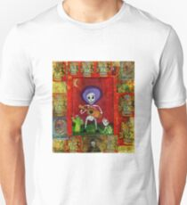 Day of the Dead Mariachi Musician Guitar Player with dog  Unisex T-Shirt