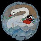 giant swan by emmaklingbeil