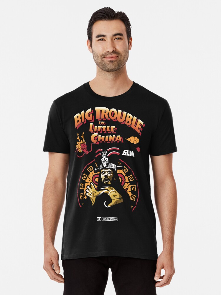 Big Trouble In Little China T Shirt By Jorditarrats Redbubble