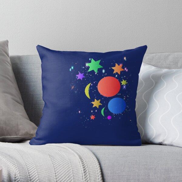 The Galaxy Throw Pillow