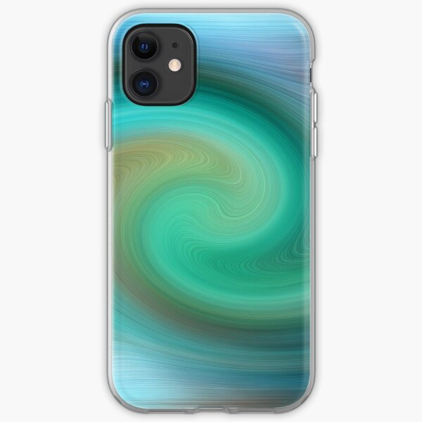 Blue motions iPhone Soft Case