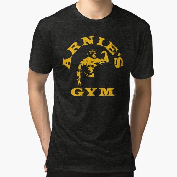 Arnie's Gym Tri-blend T-Shirt