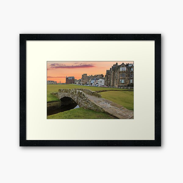 St Andrews golf course (3) Framed Art Print