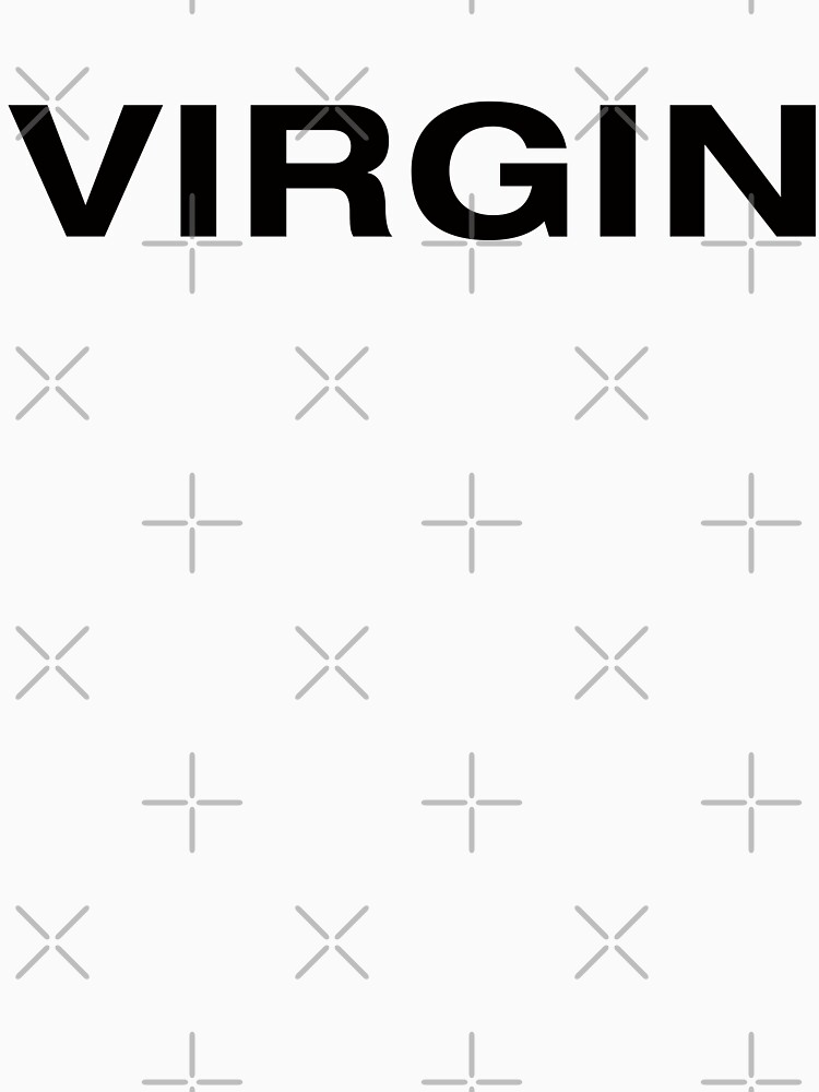 Virgin (BlackText) by RoufXis