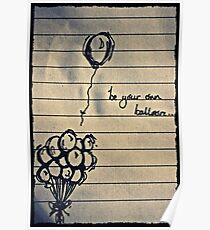 Balloon Blues Poster