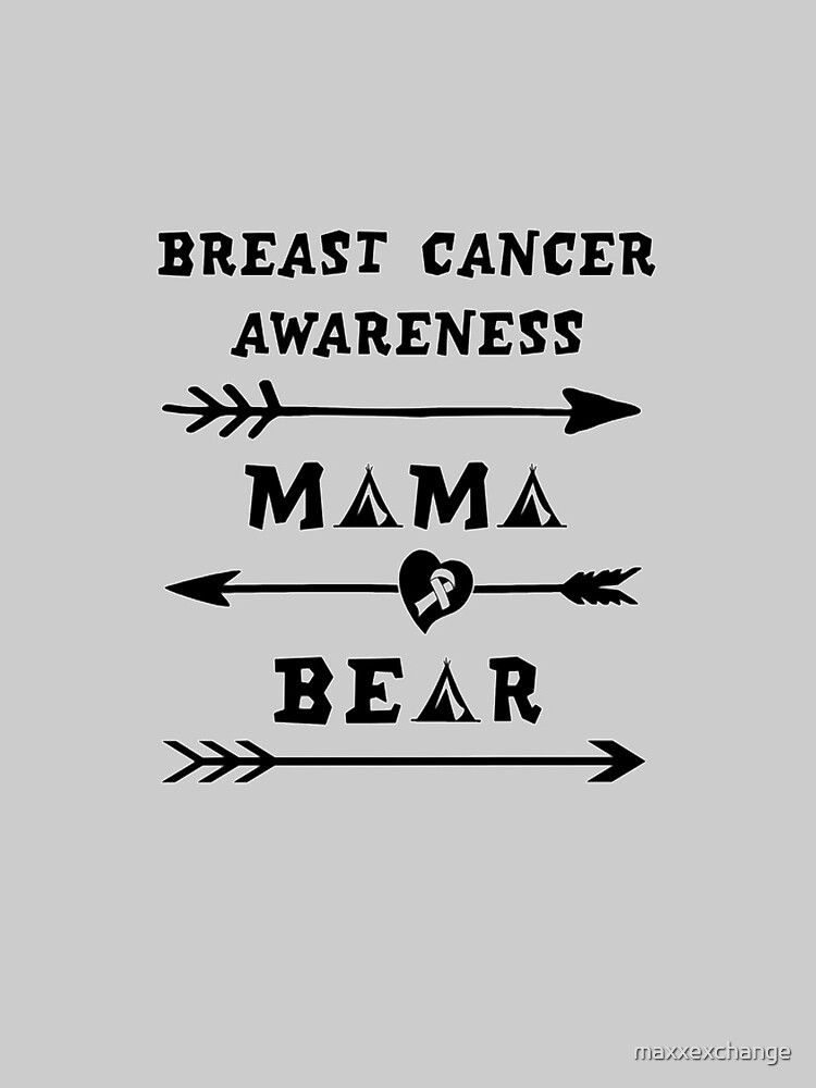 Breast Cancer Awareness, Mama Bear. by maxxexchange