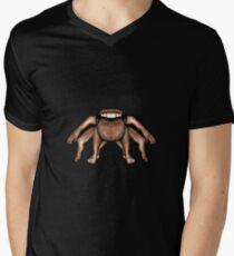 Fantasty Dark Alien Monster Men's V-Neck T-Shirt