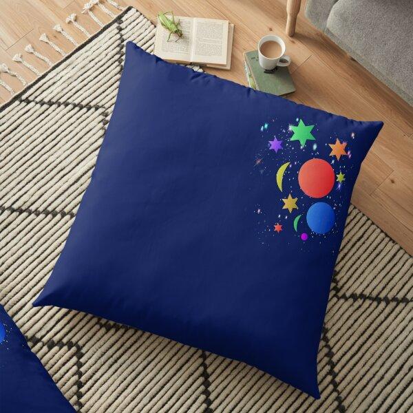The Galaxy Floor Pillow