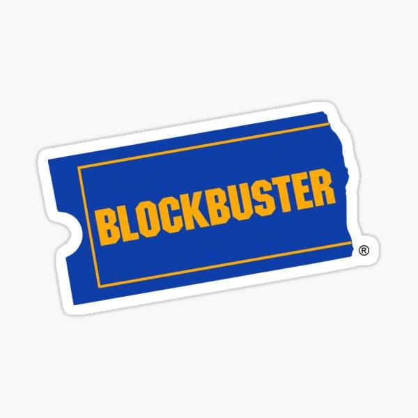 Blockbuster Sticker