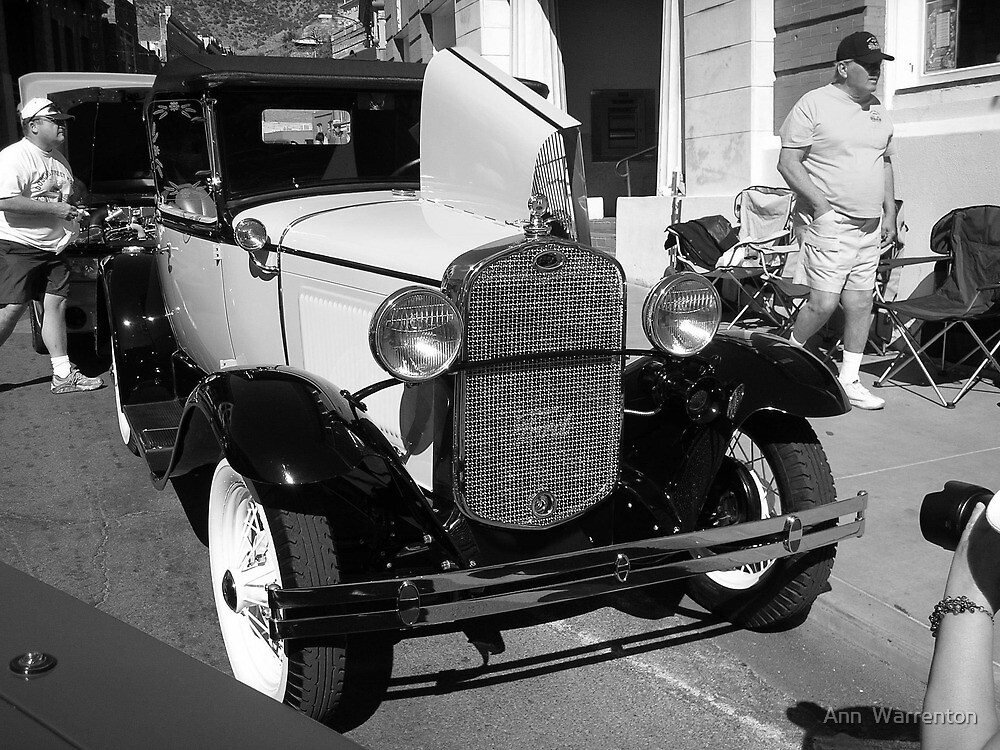 Ford Coupe by Ann  Warrenton