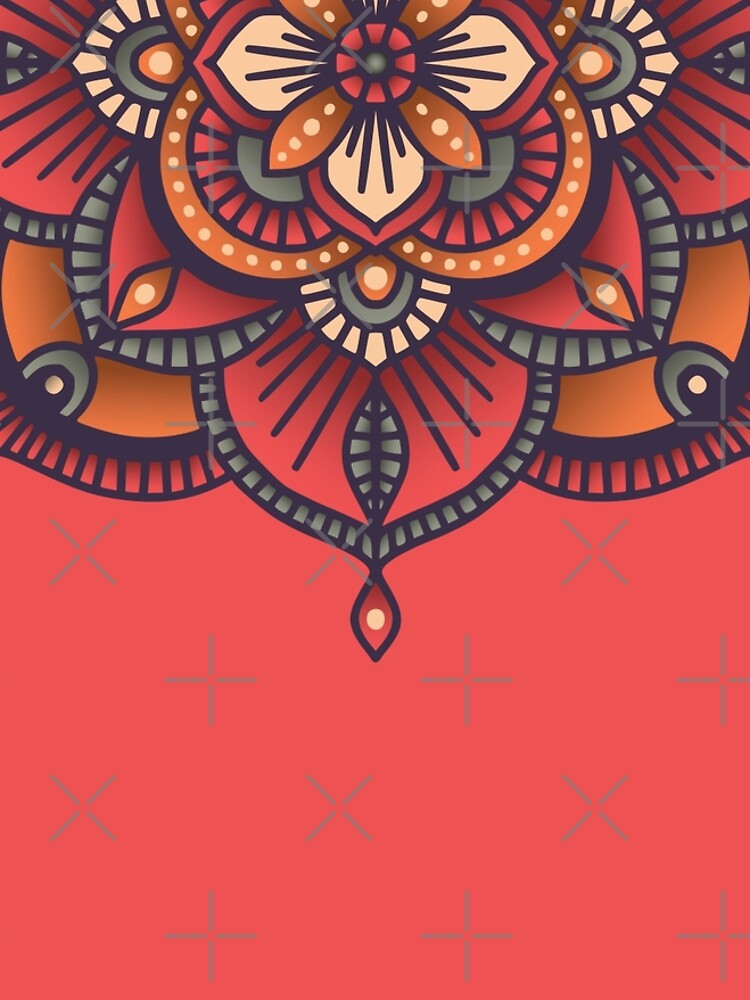 Red Mandala  by BlueLela